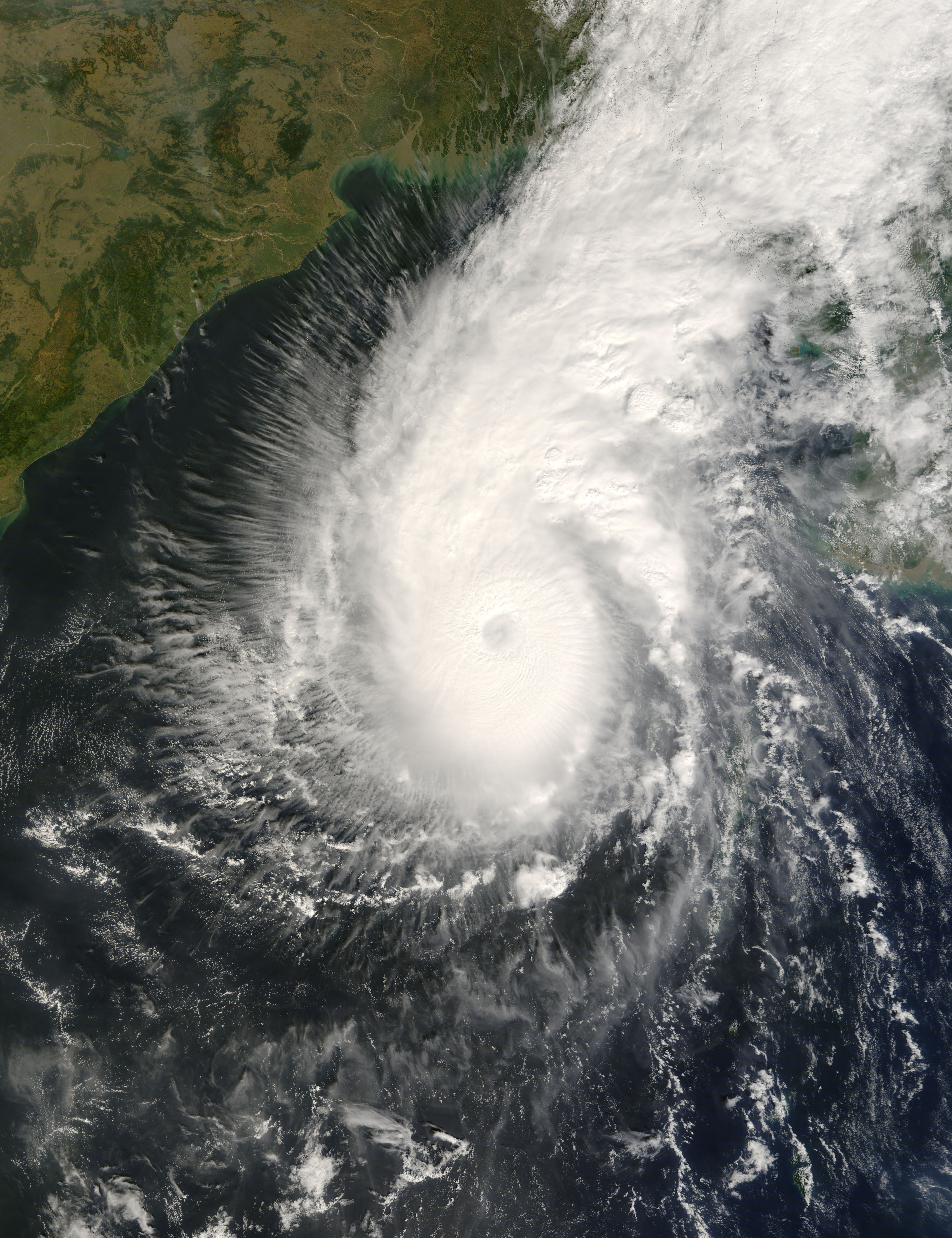 the 1970 cyclone in bangladesh A ppendix background information on the storm surge modelling 1 cyclone hazard in bangladesh by sirajur rahman khan revised by michiel damen, itc.