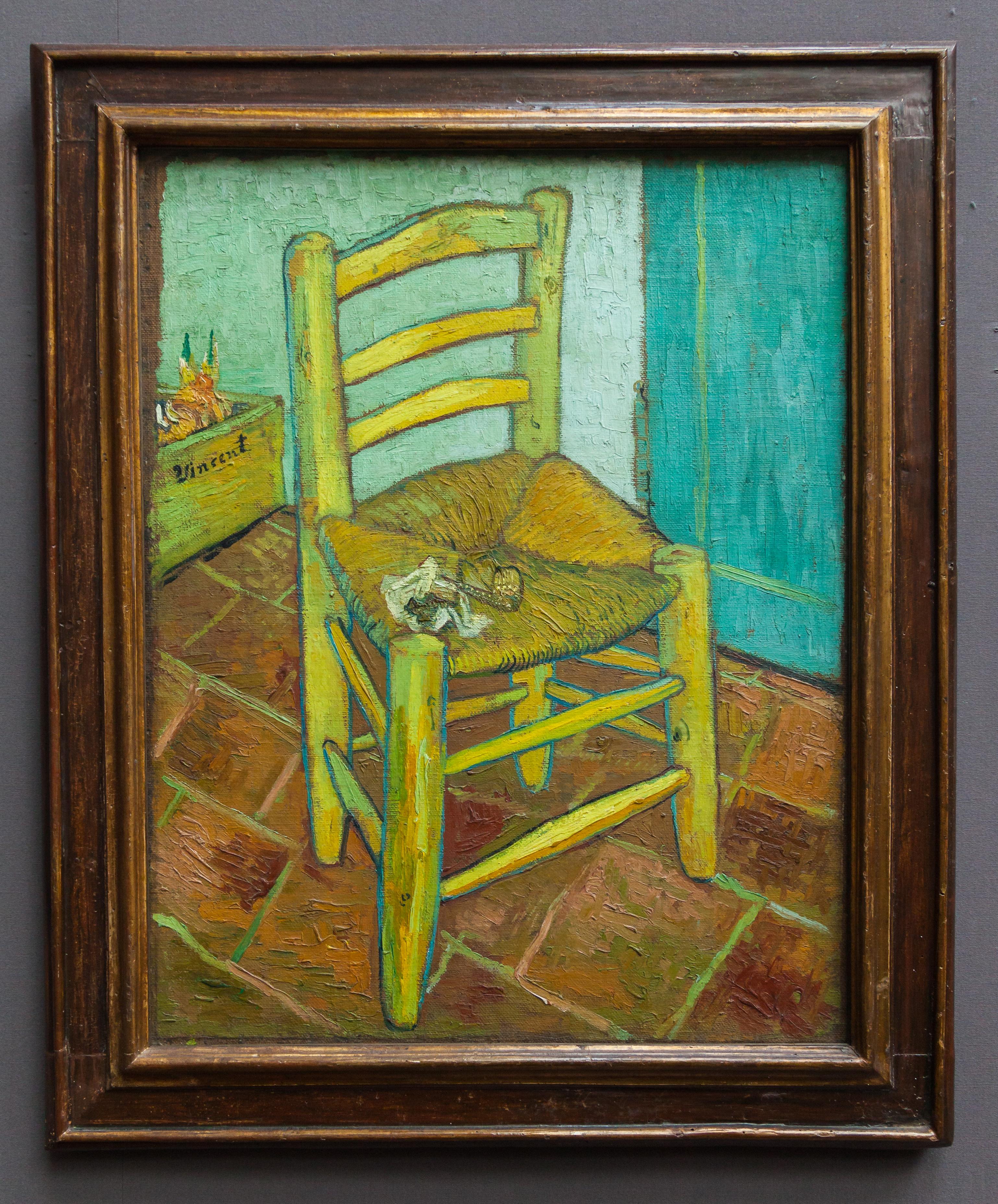 Galeria: File:Silla De Vincent Van Gogh, Galería Nacional, Londres