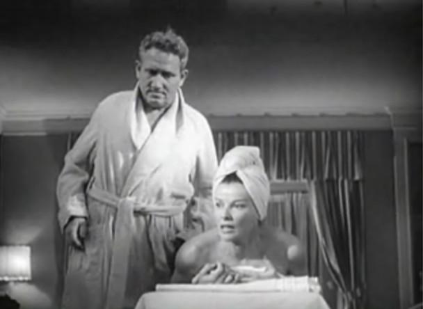 Ficheiro:Spencer Tracy and Katharine Hepburn in Adams Rib trailer.jpg