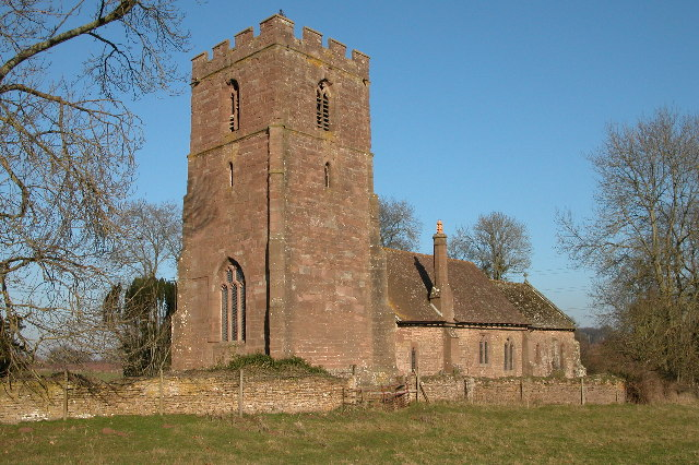 St Dubricius parish church, Hentland, Herefordshire