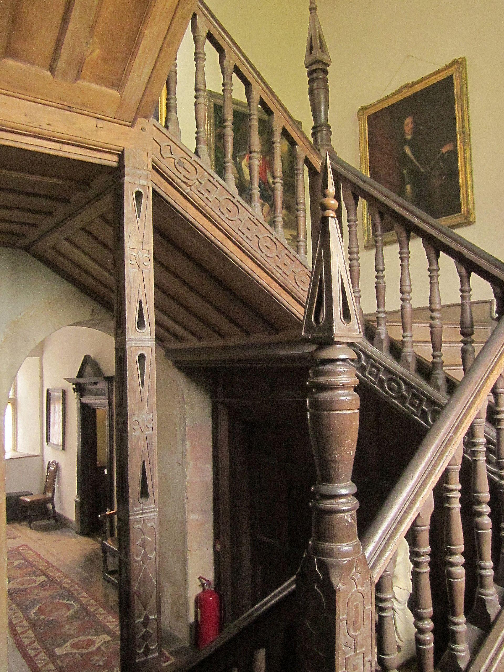 File Staircase Chastleton House geograph by Derek Harper