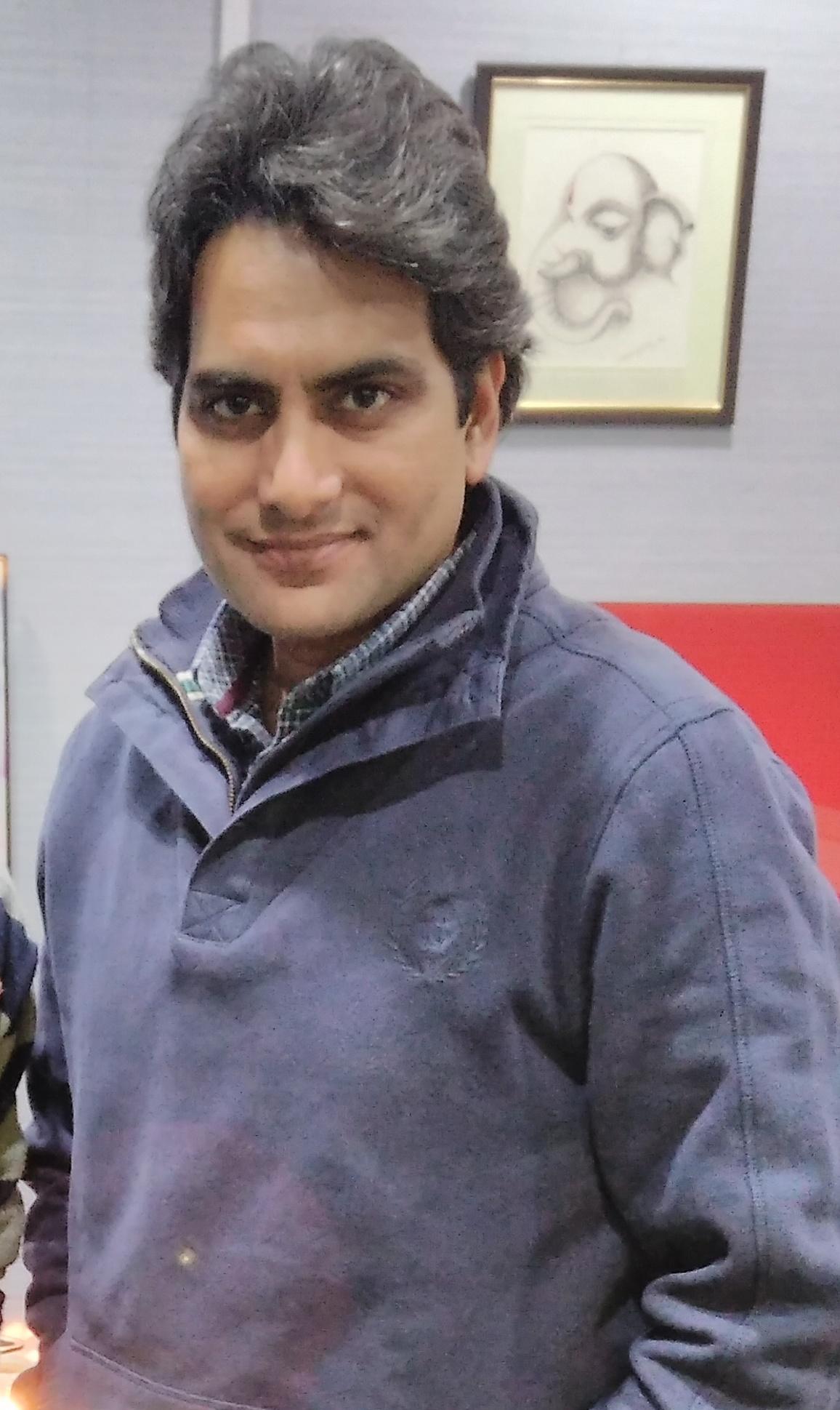 Sudhir Chaudhary (journalist) - Wikipedia