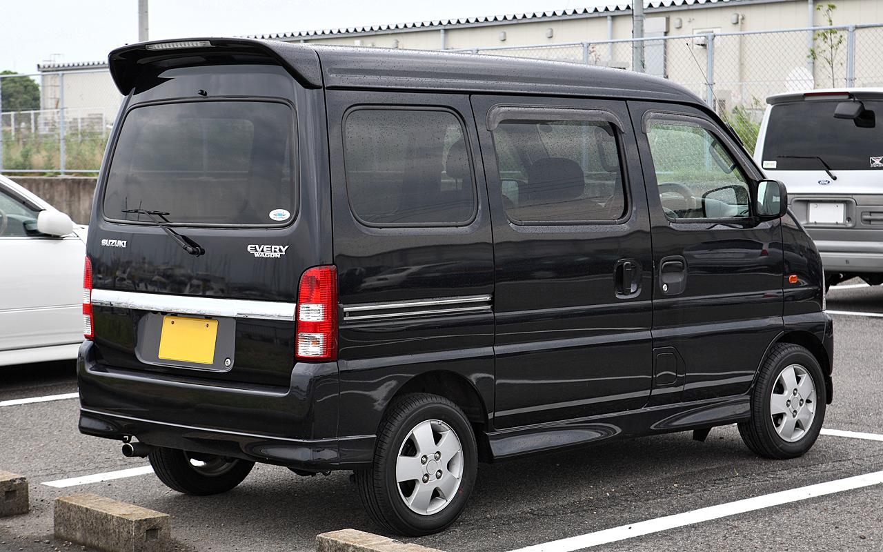 Suzuki Every Wagon Review