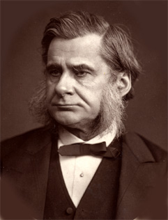 Depiction of Thomas Henry Huxley