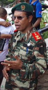 Major General Taur Matan Ruak in December 2009
