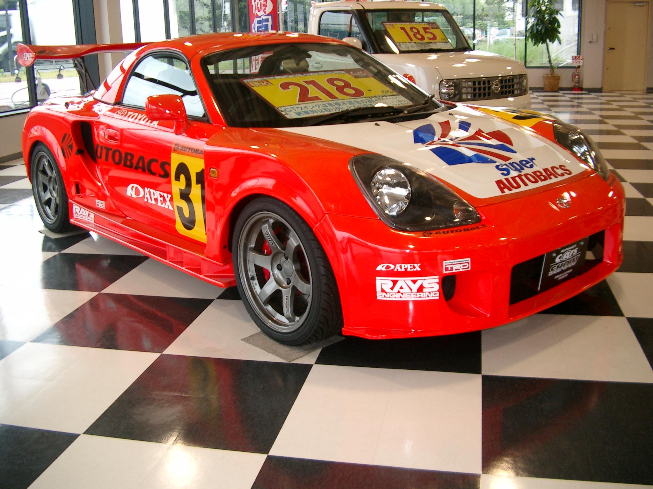 File Toyota Mr S Racer Replica Jpg Wikimedia Commons