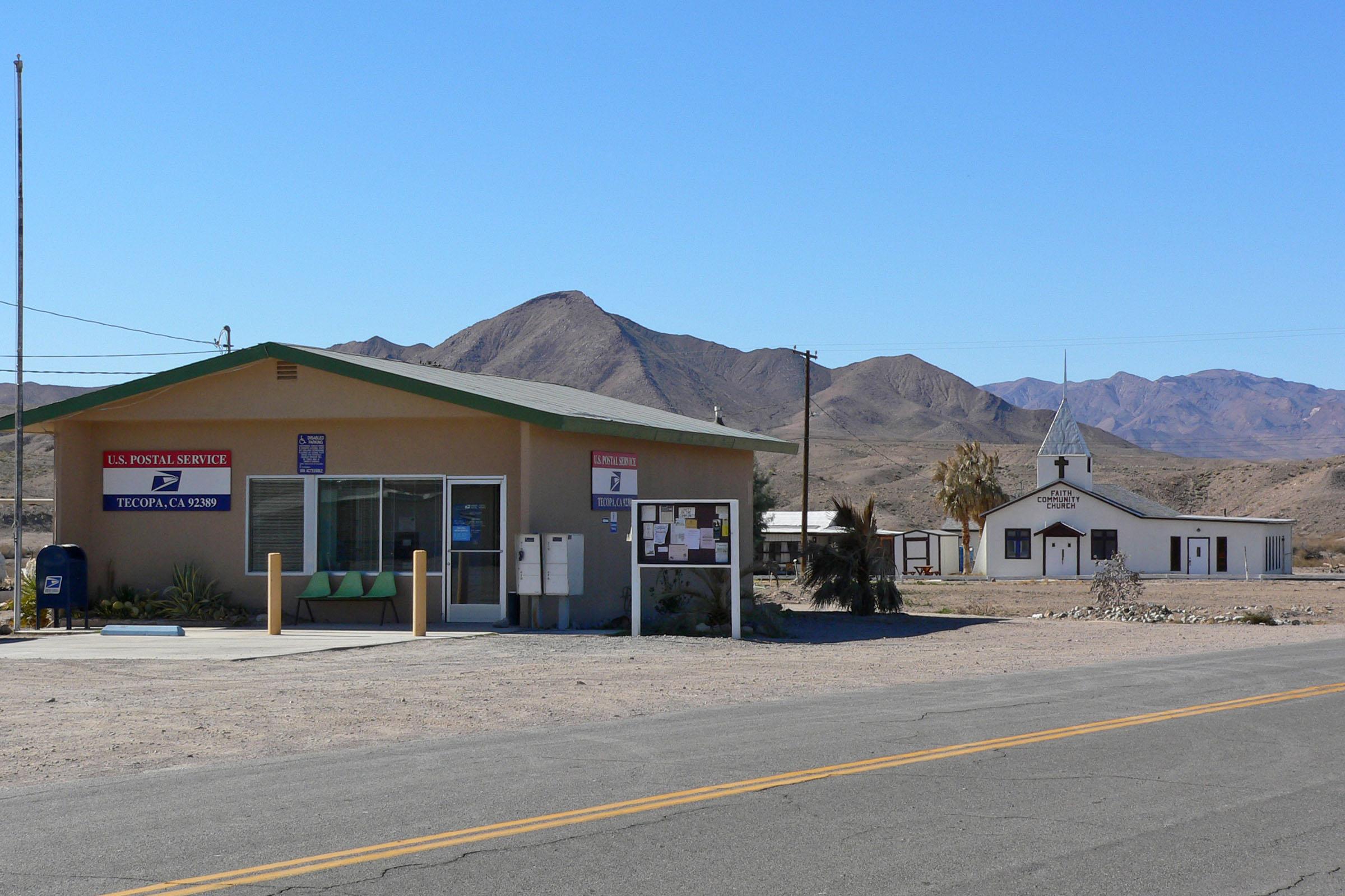 Tecopa, California