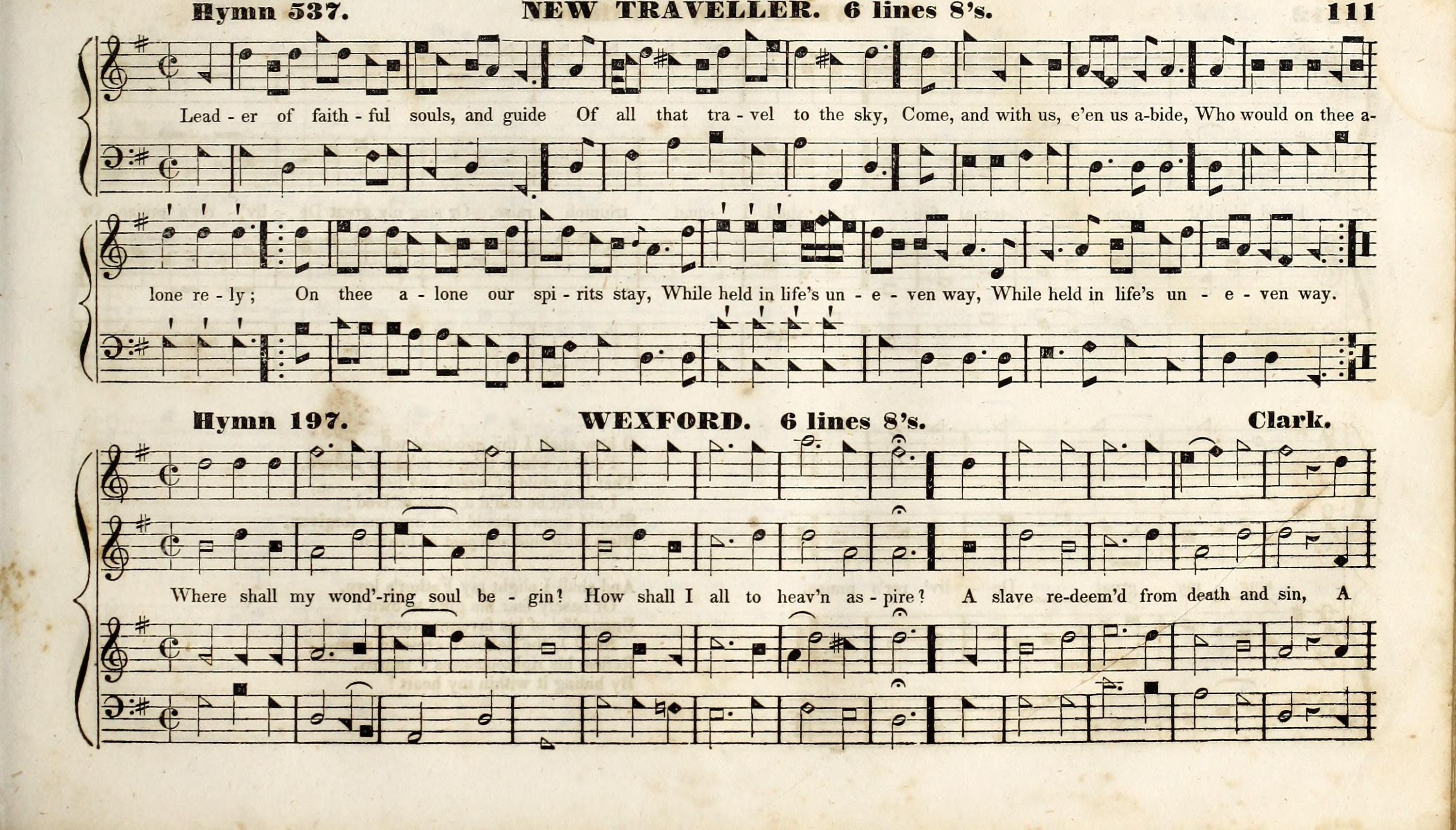 File:The Methodist harmonist, containing a collection of tunes from