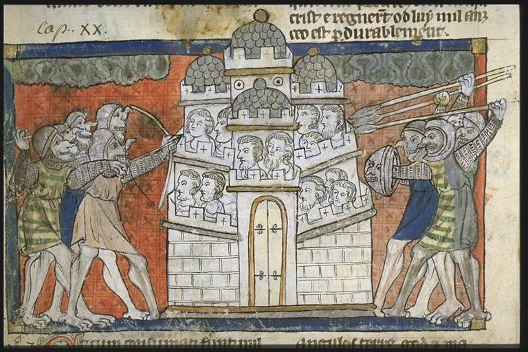 Toulouse ms 815-049v-Gog&Magog