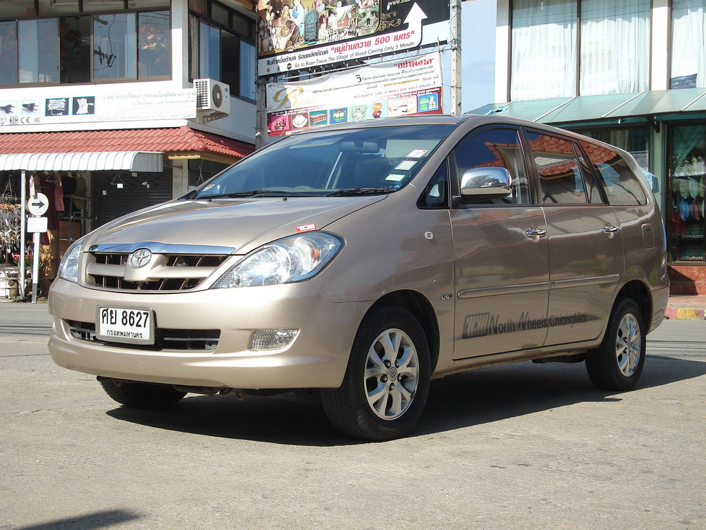 Innova 2005 Silver 2005 Toyota Kijang Innova