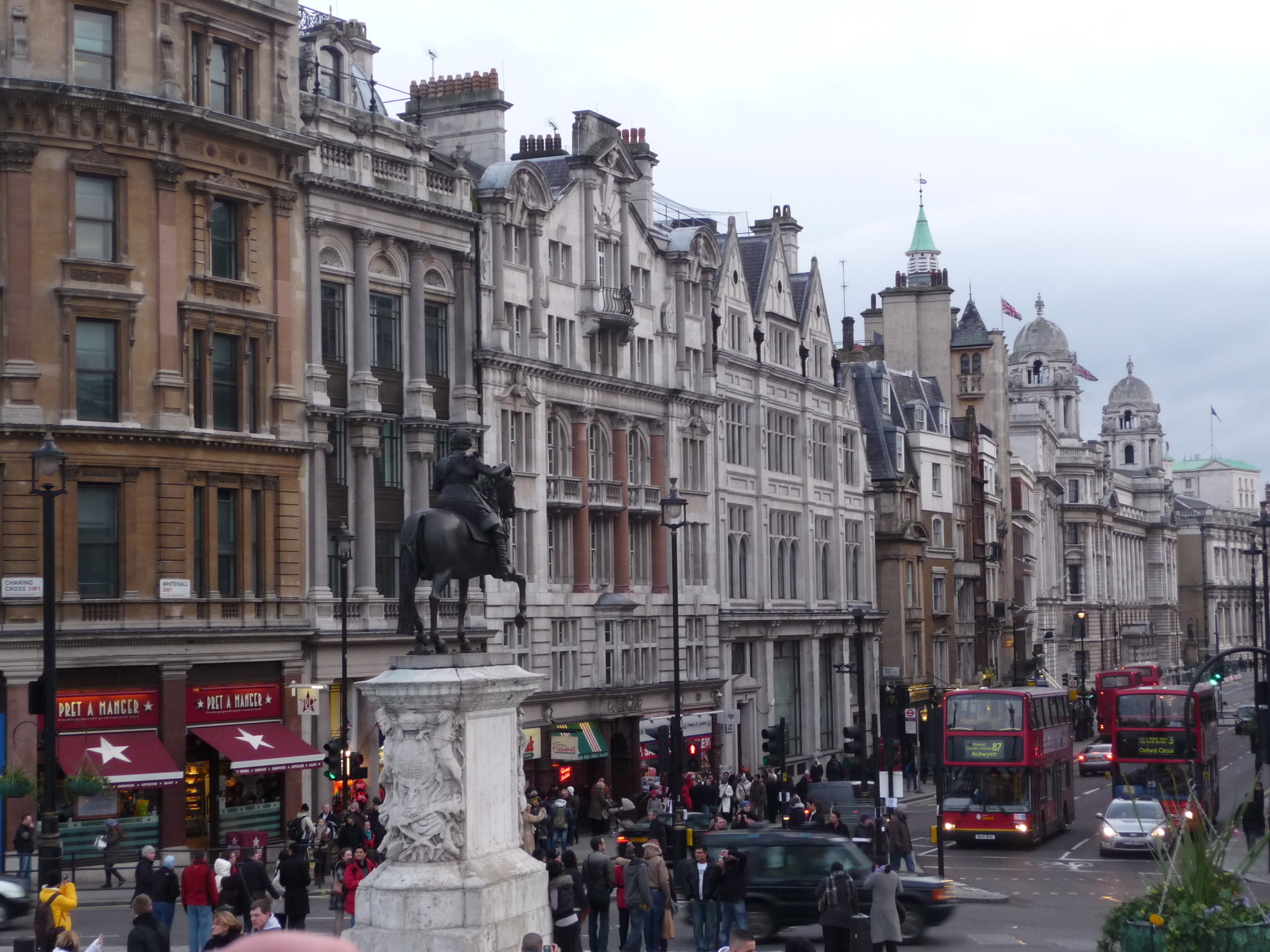 File:Trafalgar Square - Whitehall - panoramio.jpg - Wikimedia Commons