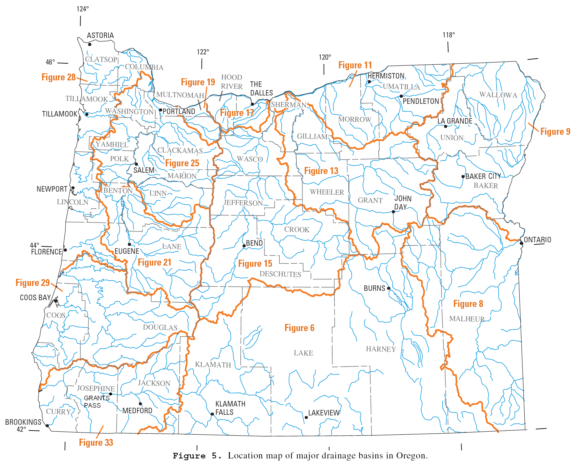 List of rivers of Oregon - Wikipedia