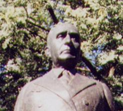 Particolare del monumento a Getulio Vargas, Sã...