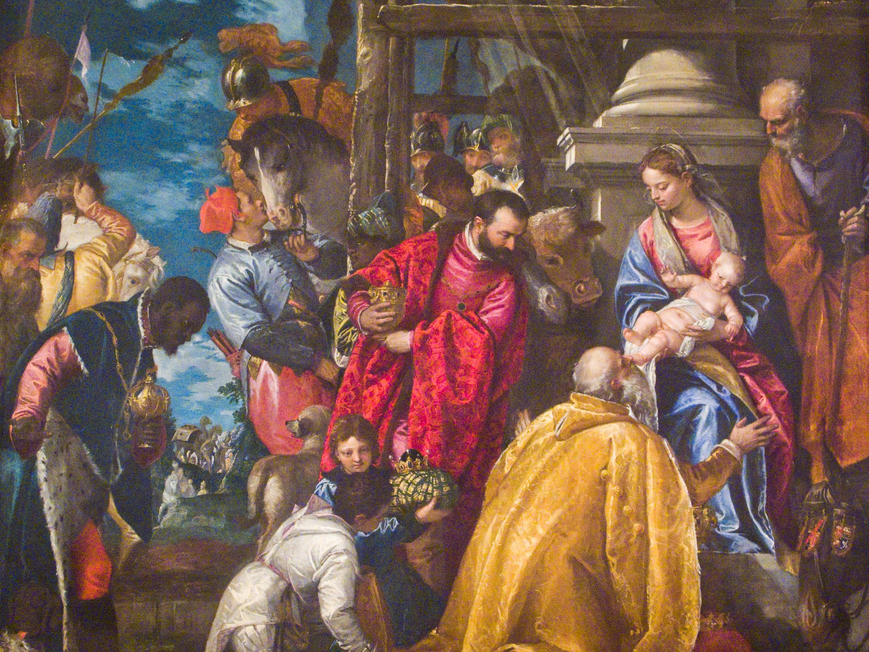 Pala della Cappella di san Giuseppe L adorazione dei Magi di Paolo Veronese