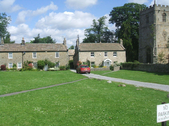 Village Green near the Church, Romaldkirk - geograph.org.uk - 1395929