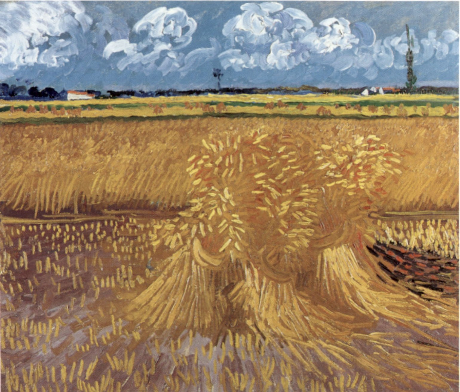 Where Was Wheatfield With Cypresses Painted