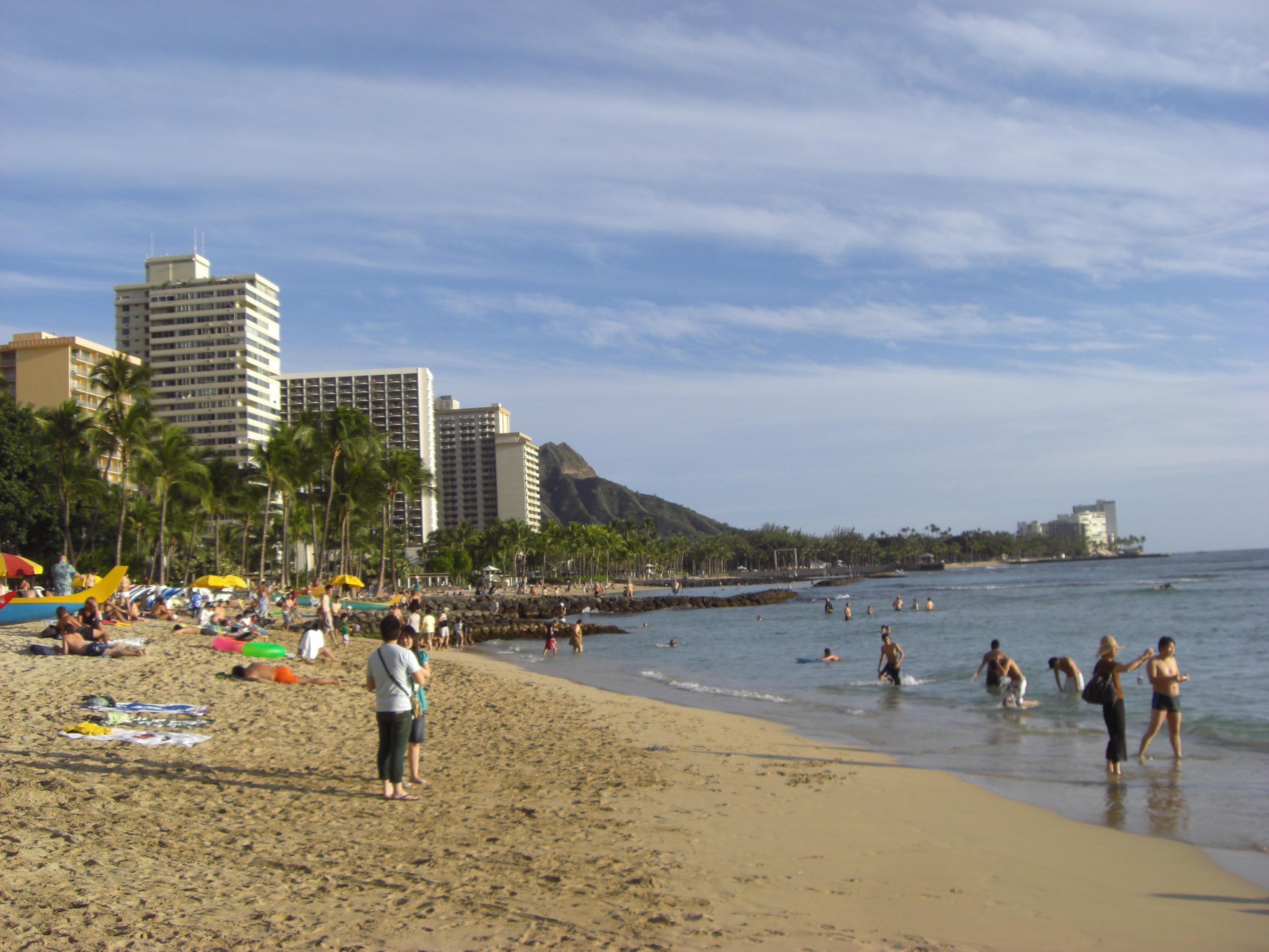 Waikiki Beach Oahu Hotels