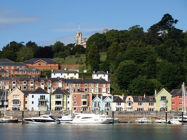 Waterfront by the higher ferry, Dartmouth - geograph.org.uk - 1367993