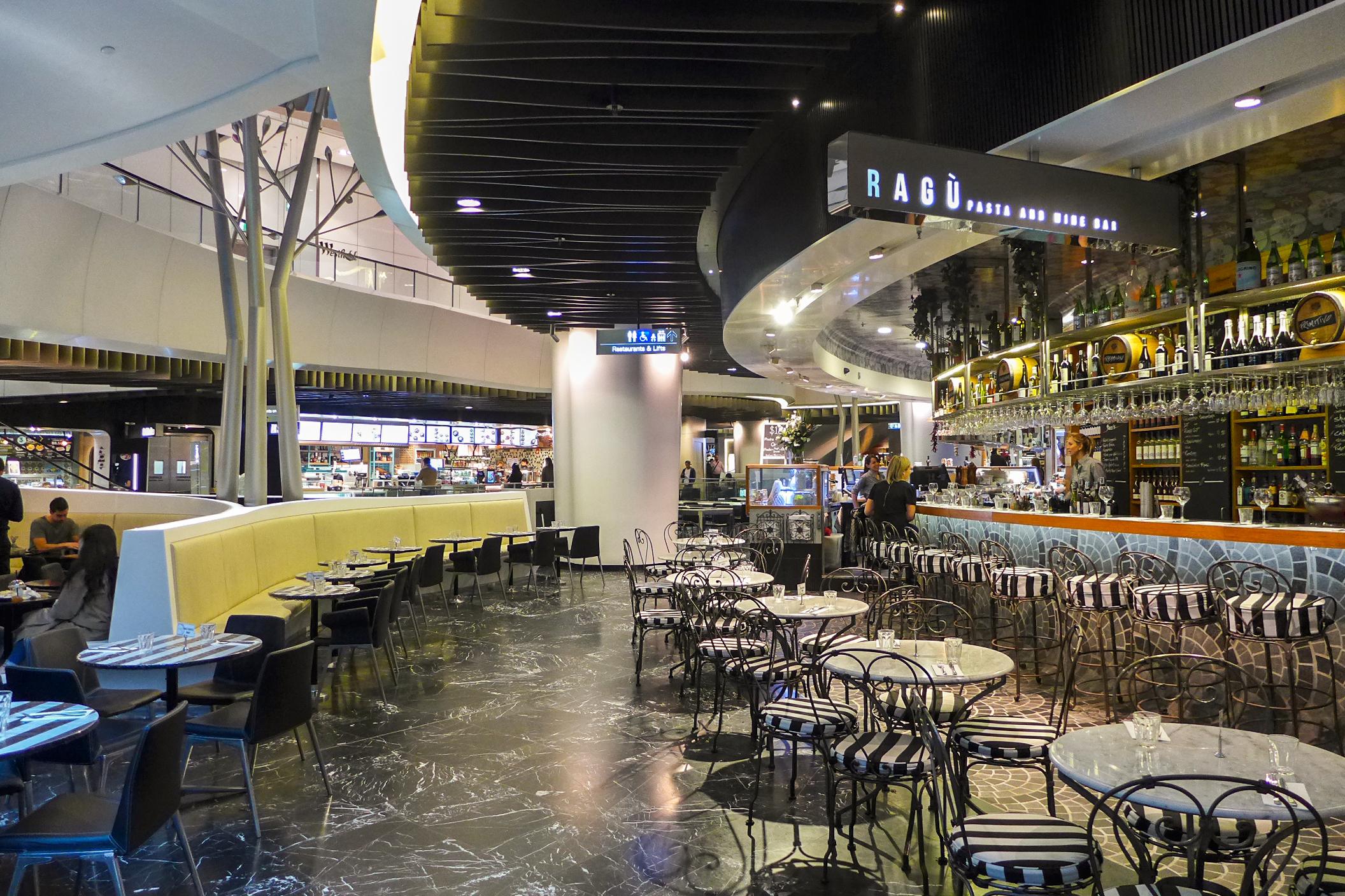 Westfield Sydney Food Court Level