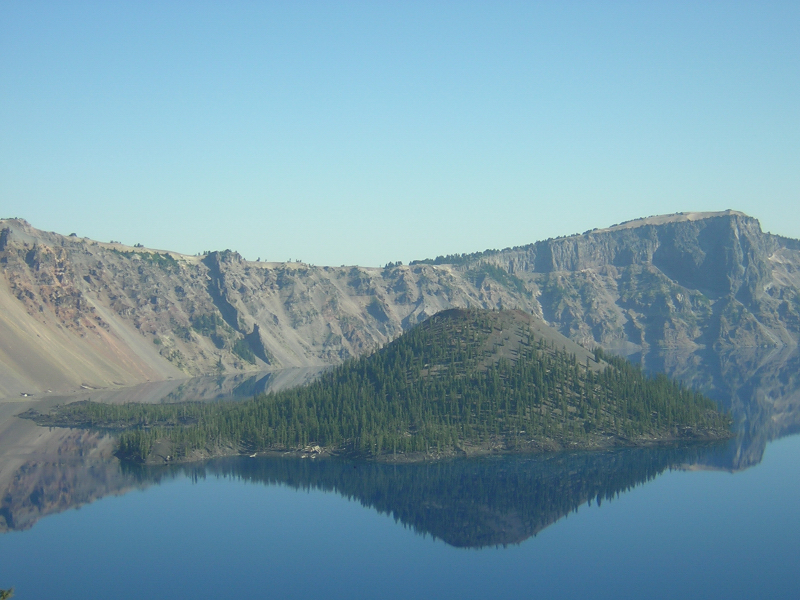 Wizard Island, Crater Lake National Park 0001