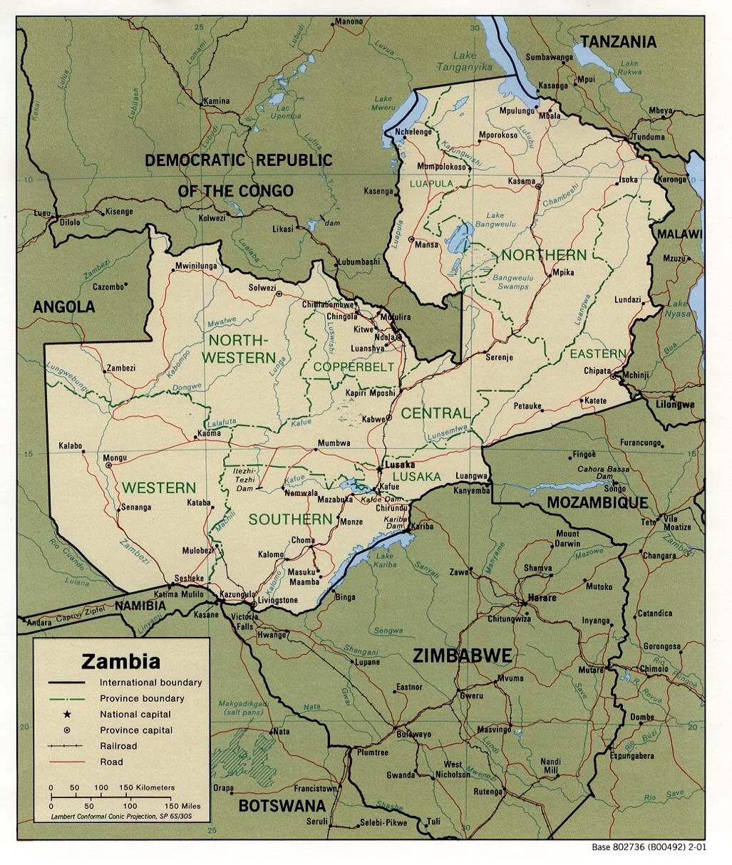FileZambia Transportationjpg Wikimedia Commons - Where is zambia