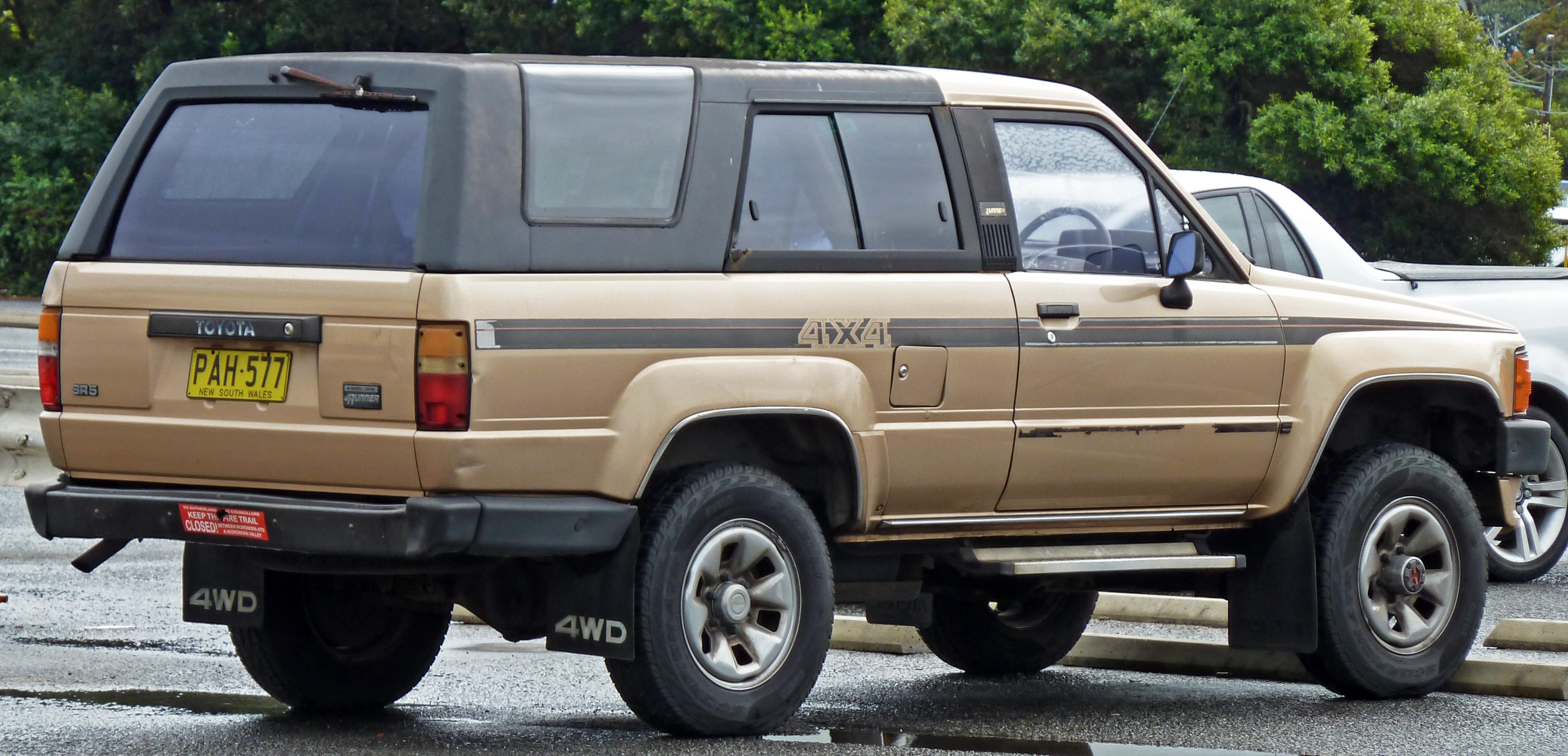 file 1987 1989 toyota hilux 4runner sr5 wagon 03 jpg wikimedia commons rh commons wikimedia org 1989 toyota 4runner repair manual pdf 1989 toyota 4runner service manual pdf