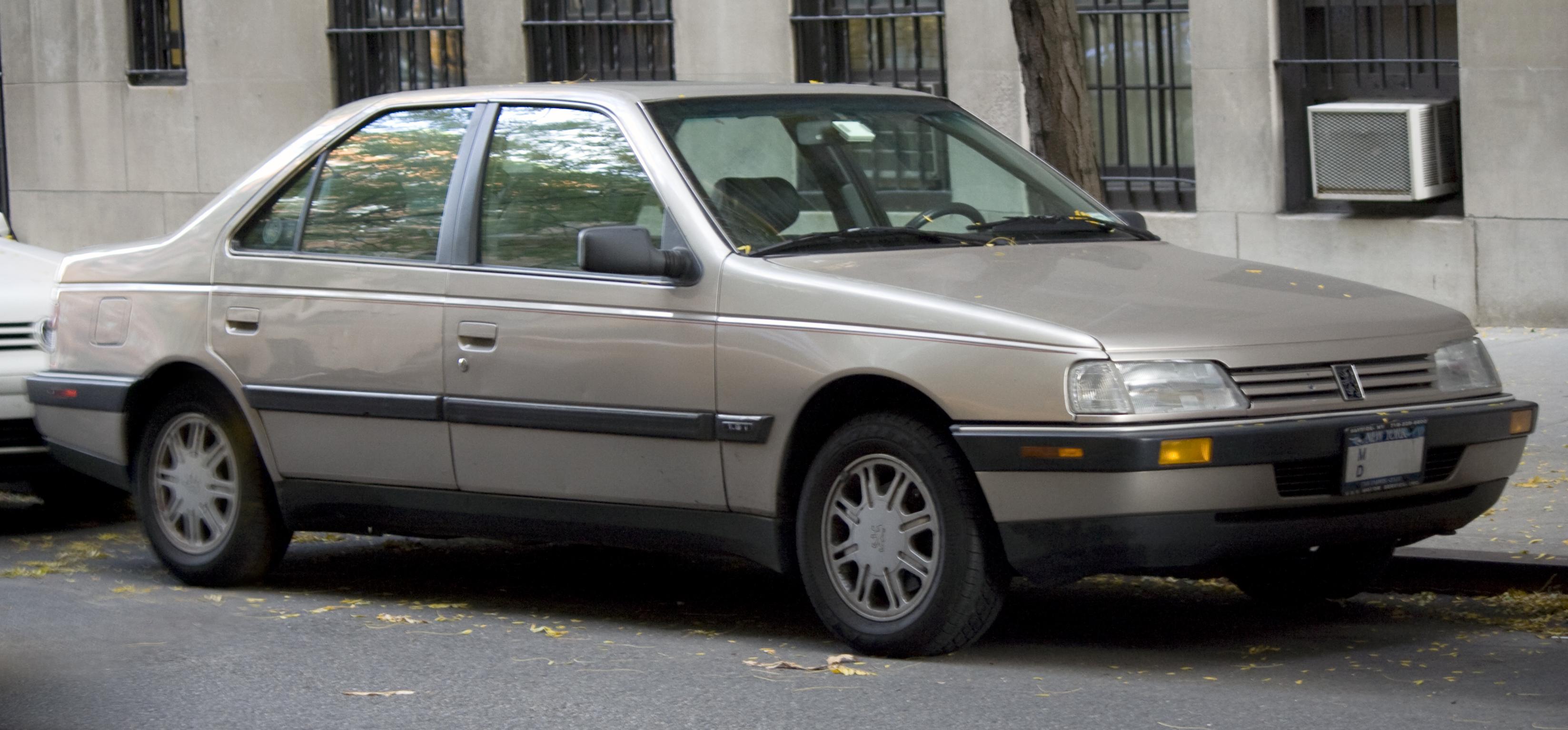 File:1991 Peugeot 405 S.jpg