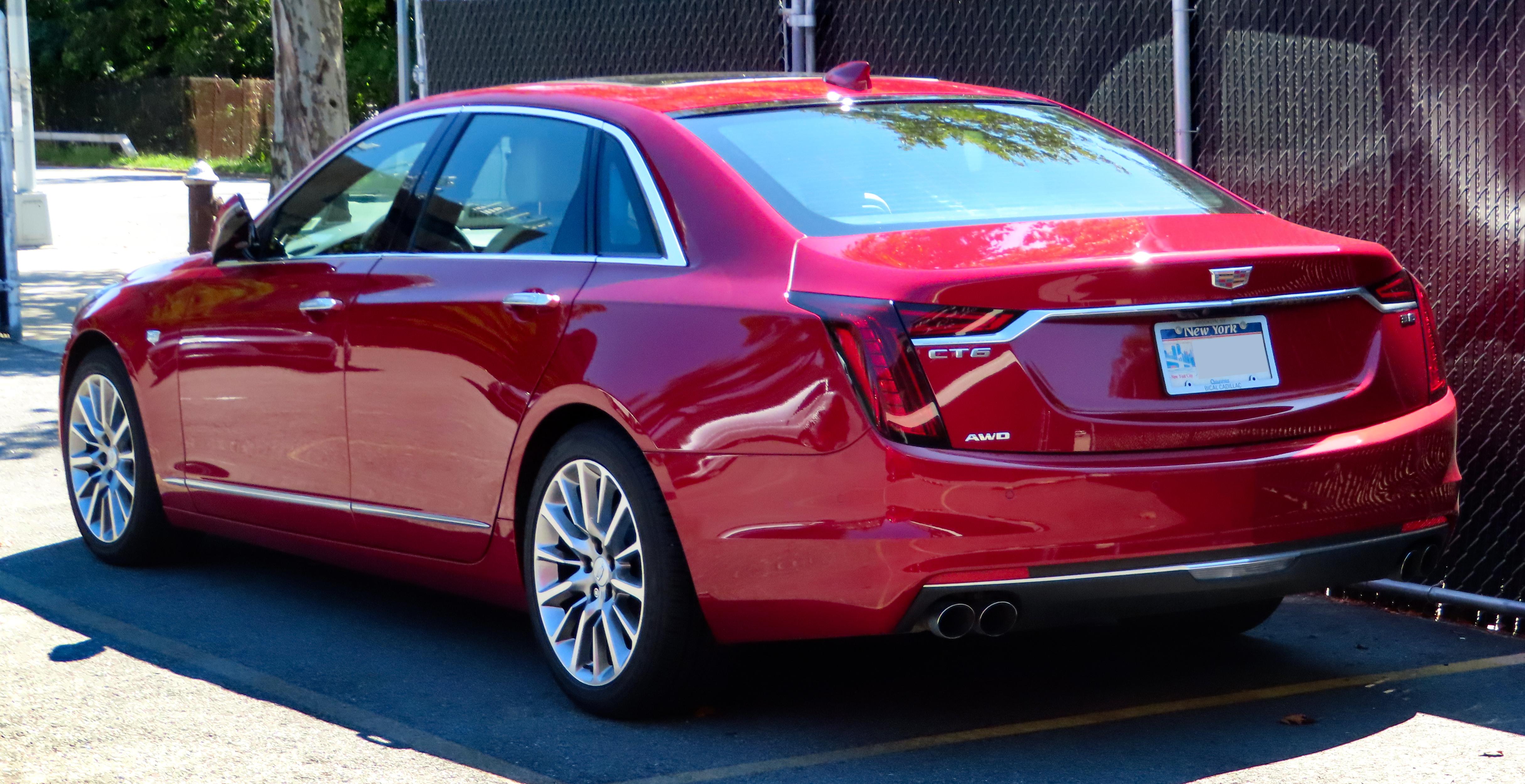 File:2019 Cadillac CT6 Premium Luxury, rear 8.28.19.jpg - Wikimedia Commons