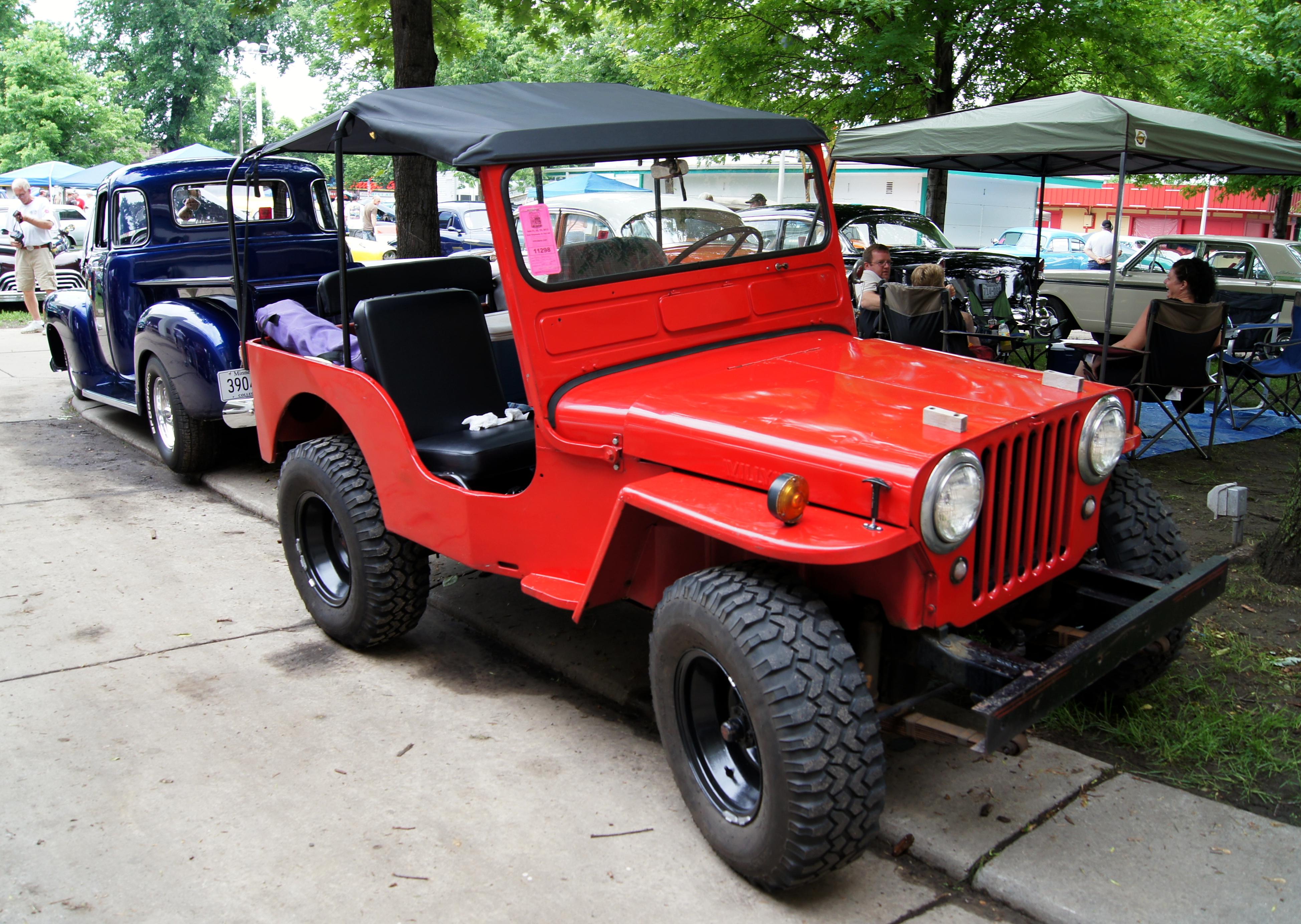 File 49 Willys Jeep Cj3a 9130639354 Jpg Wikimedia Commons