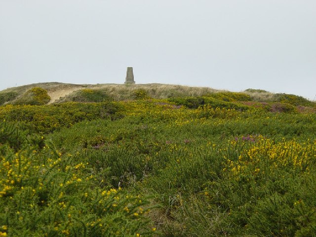 Abbotsbury Castle Trig Point - geograph.org.uk - 50819