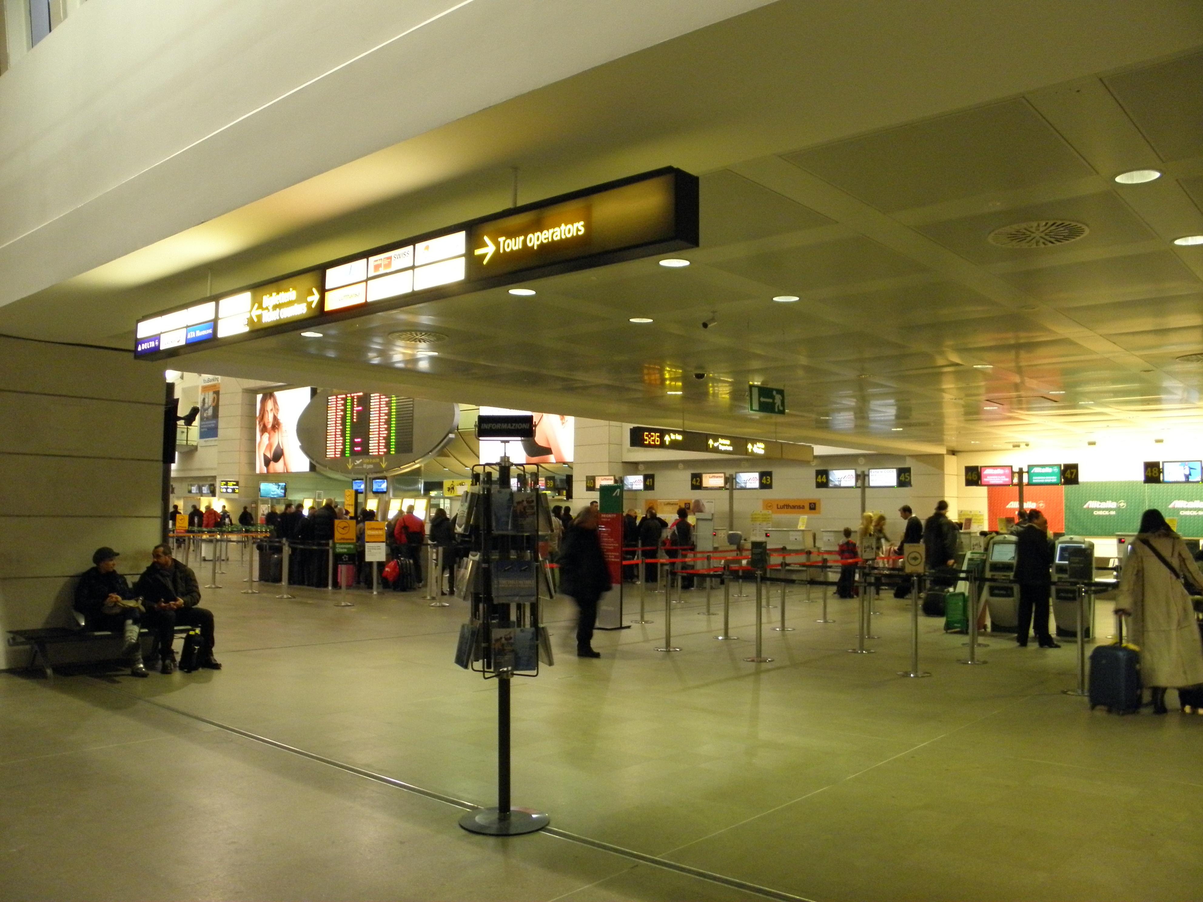 File Aeroporto Marco Polo Di Venezia Tessera Interno Jpg