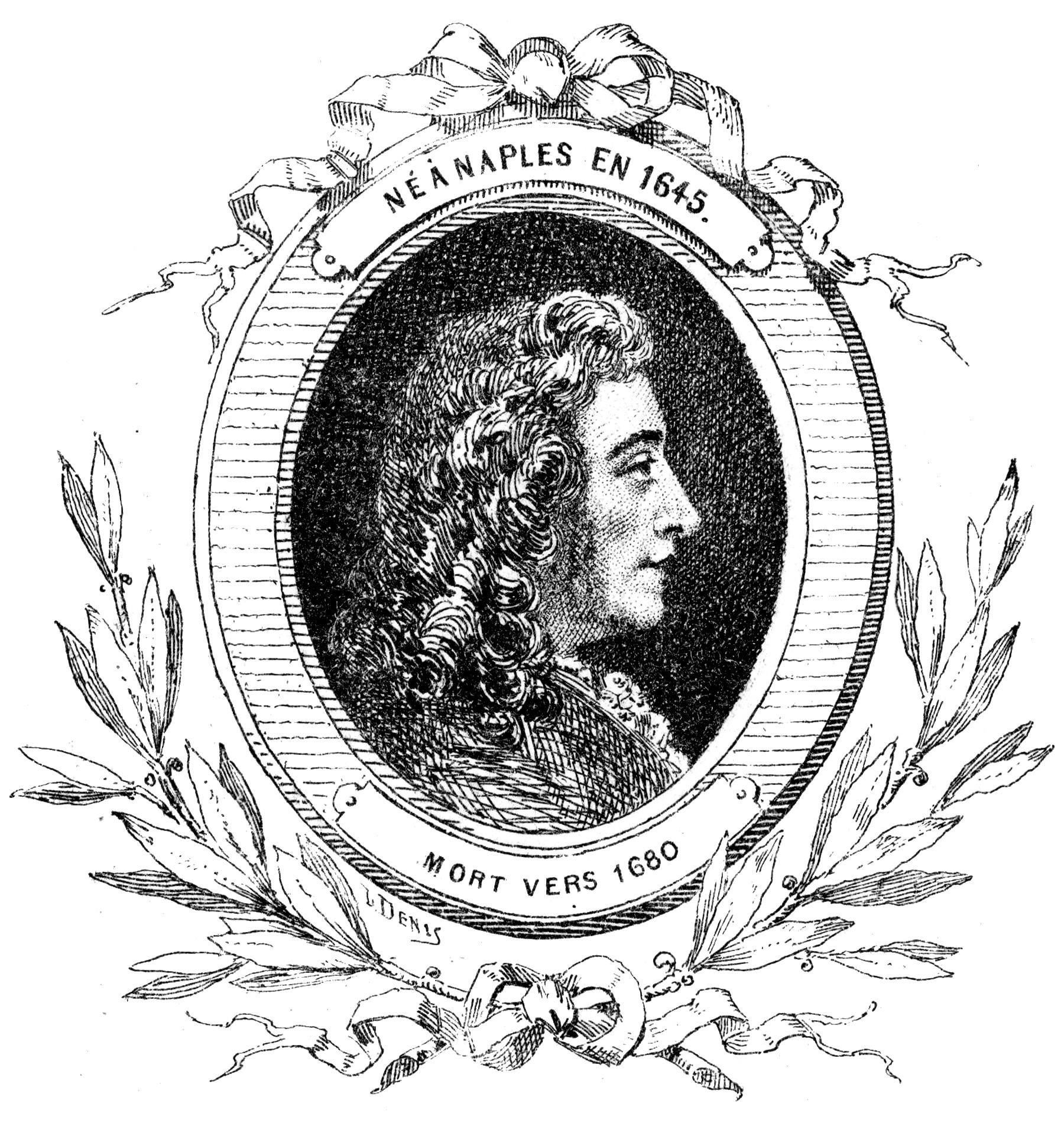 Depiction of Alessandro Stradella
