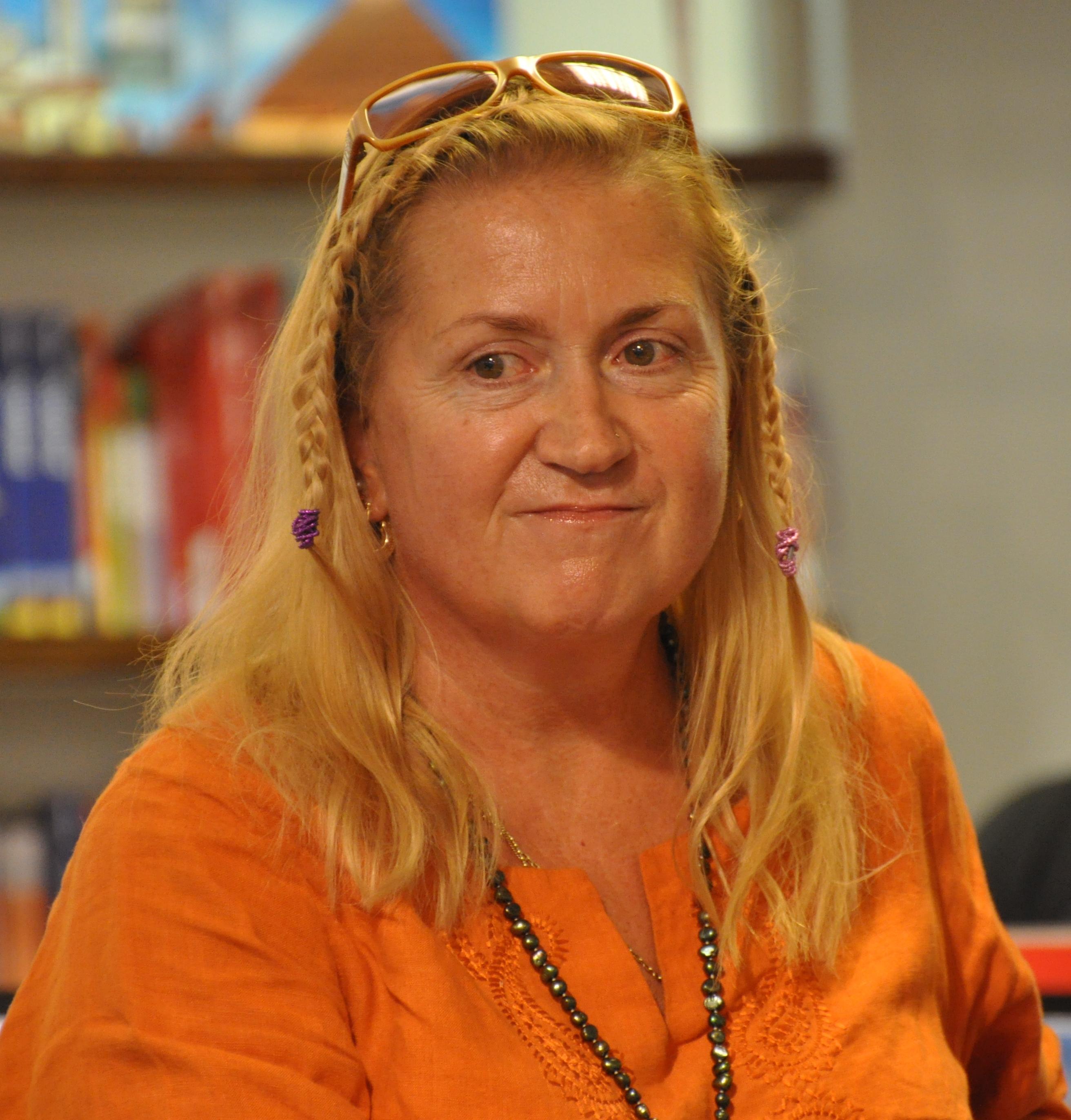 Anja Snellman in 2010.