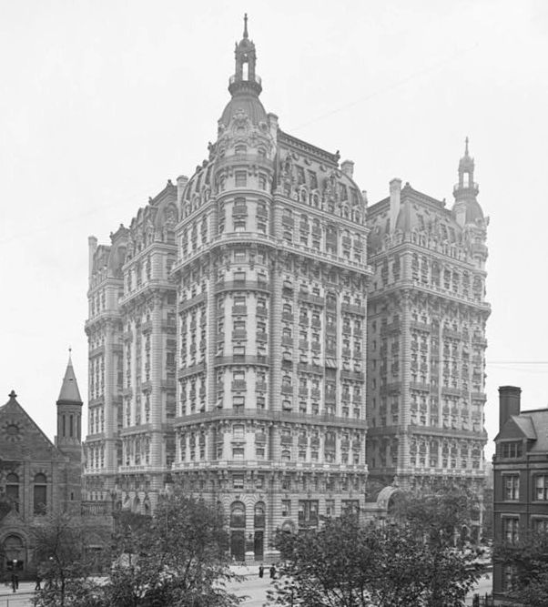 List Of Former Hotels In Manhattan