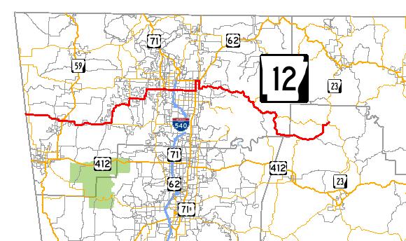 Arkansas Highway 12 - Wikipedia