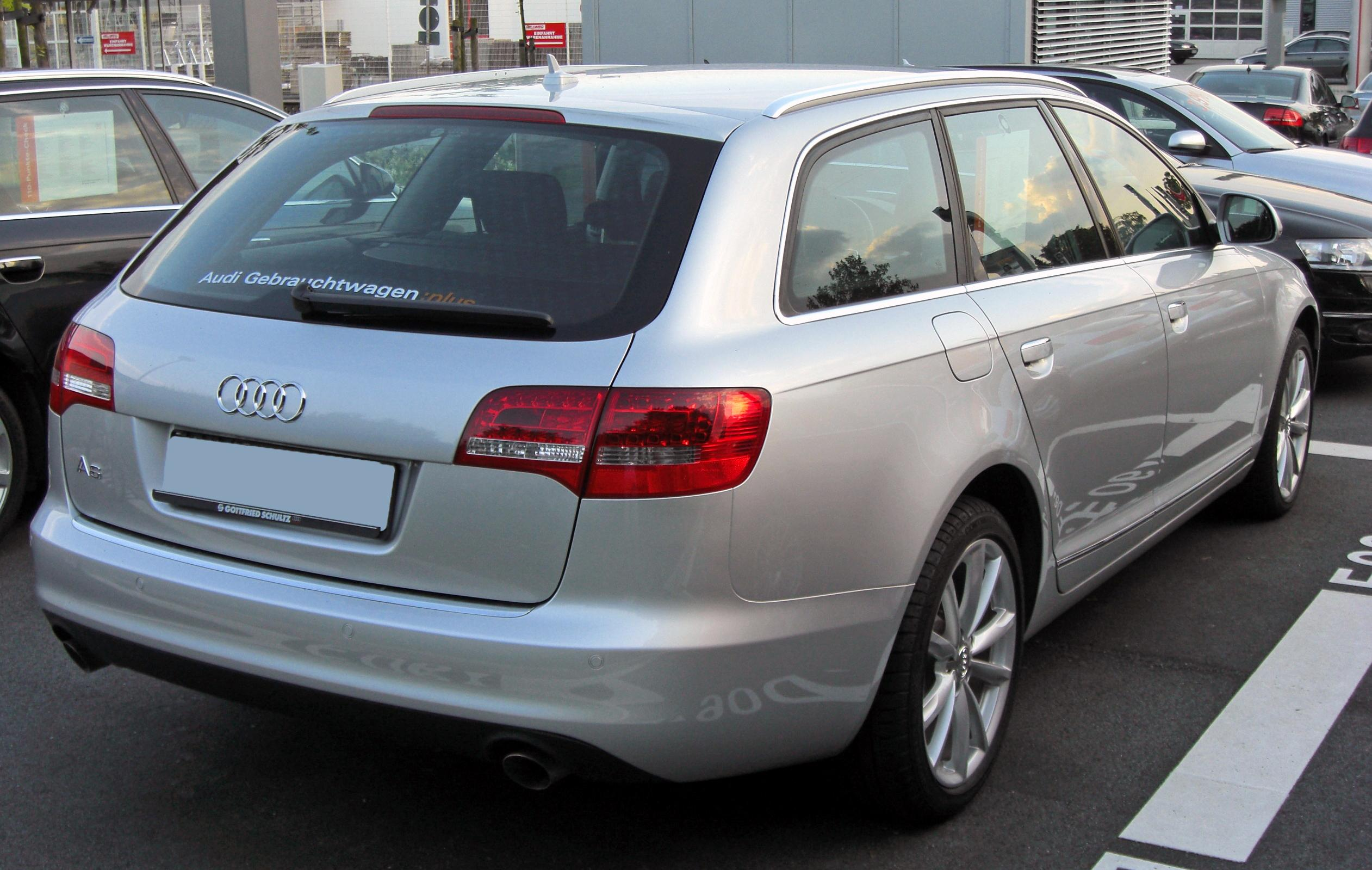 file audi a6 c6 avant facelift 20090803 rear jpg wikimedia commons. Black Bedroom Furniture Sets. Home Design Ideas