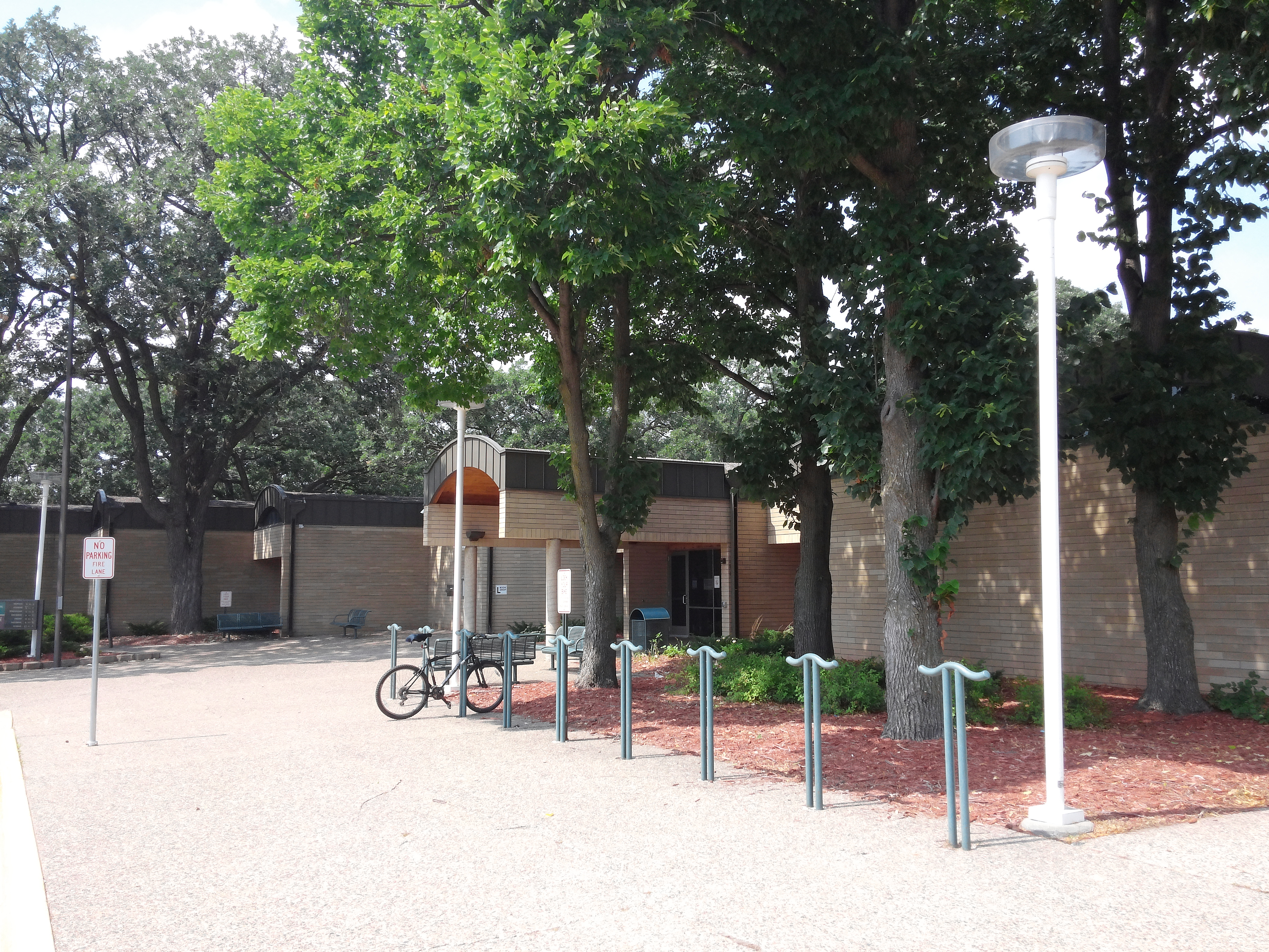 The Augsburg Park Library exterior.
