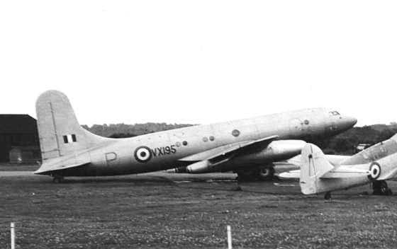 Avro Tudor Avro_Tudor_8_Nene_jet_engines