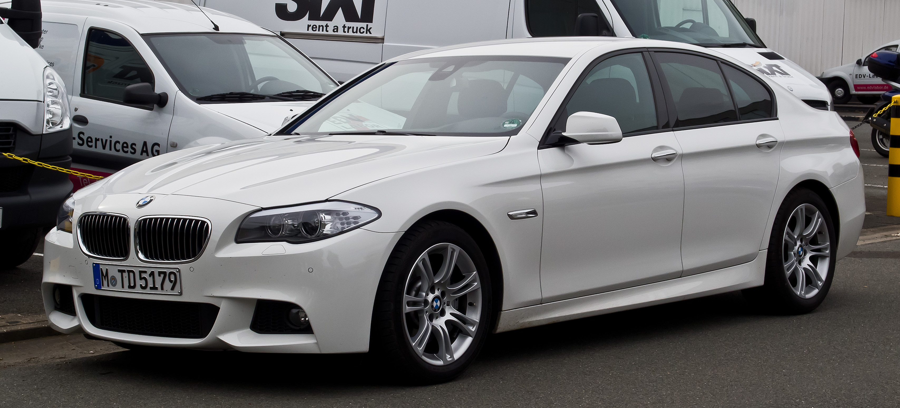 File Bmw 530d M Sportpaket F10 Frontansicht 1