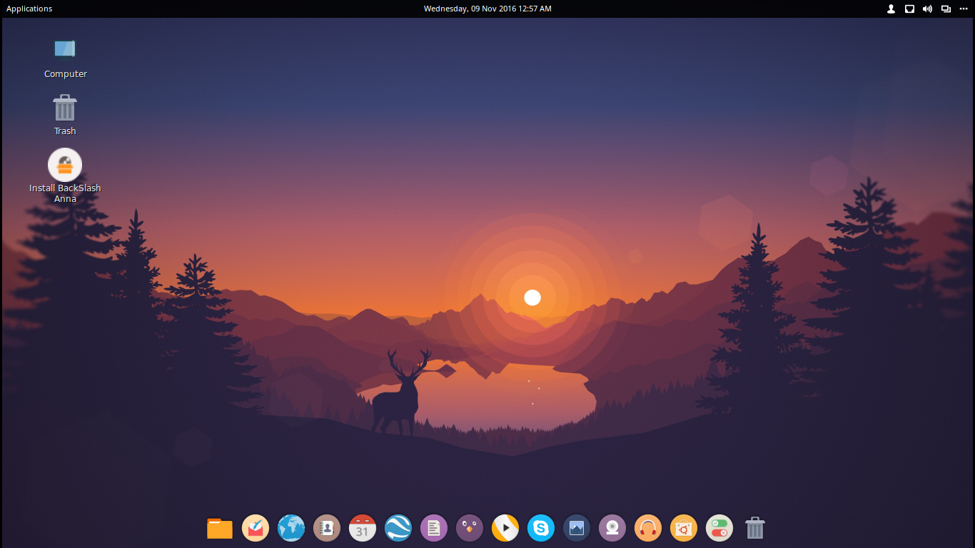BackSlash Linux - A new Cool Looking Distro in the Community | Linux