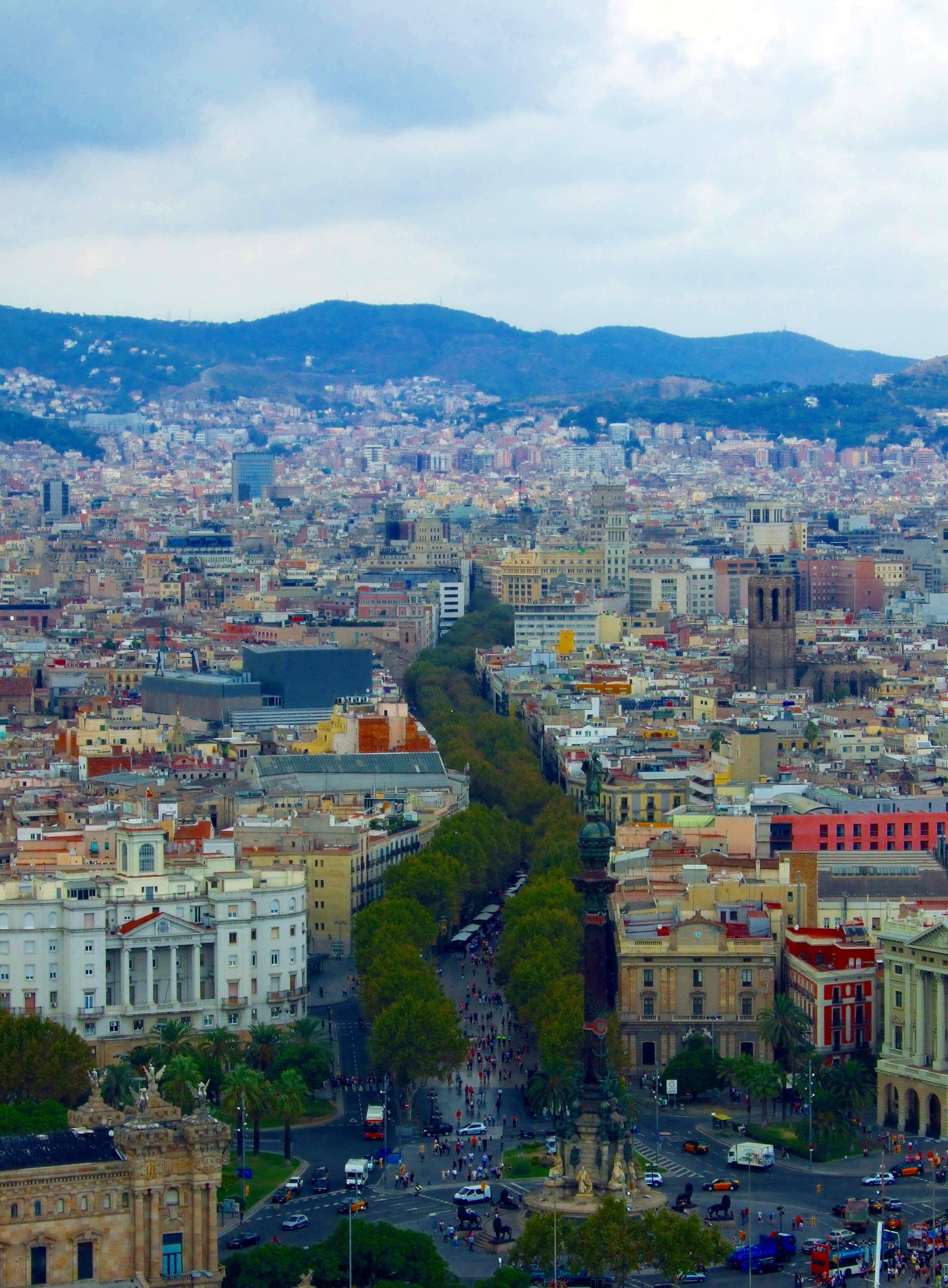 Ramblas Barcelona Wikipedia images