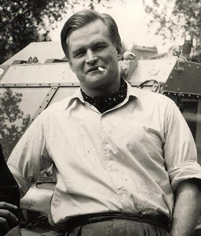 Ben Carlin in Montréal, 1948