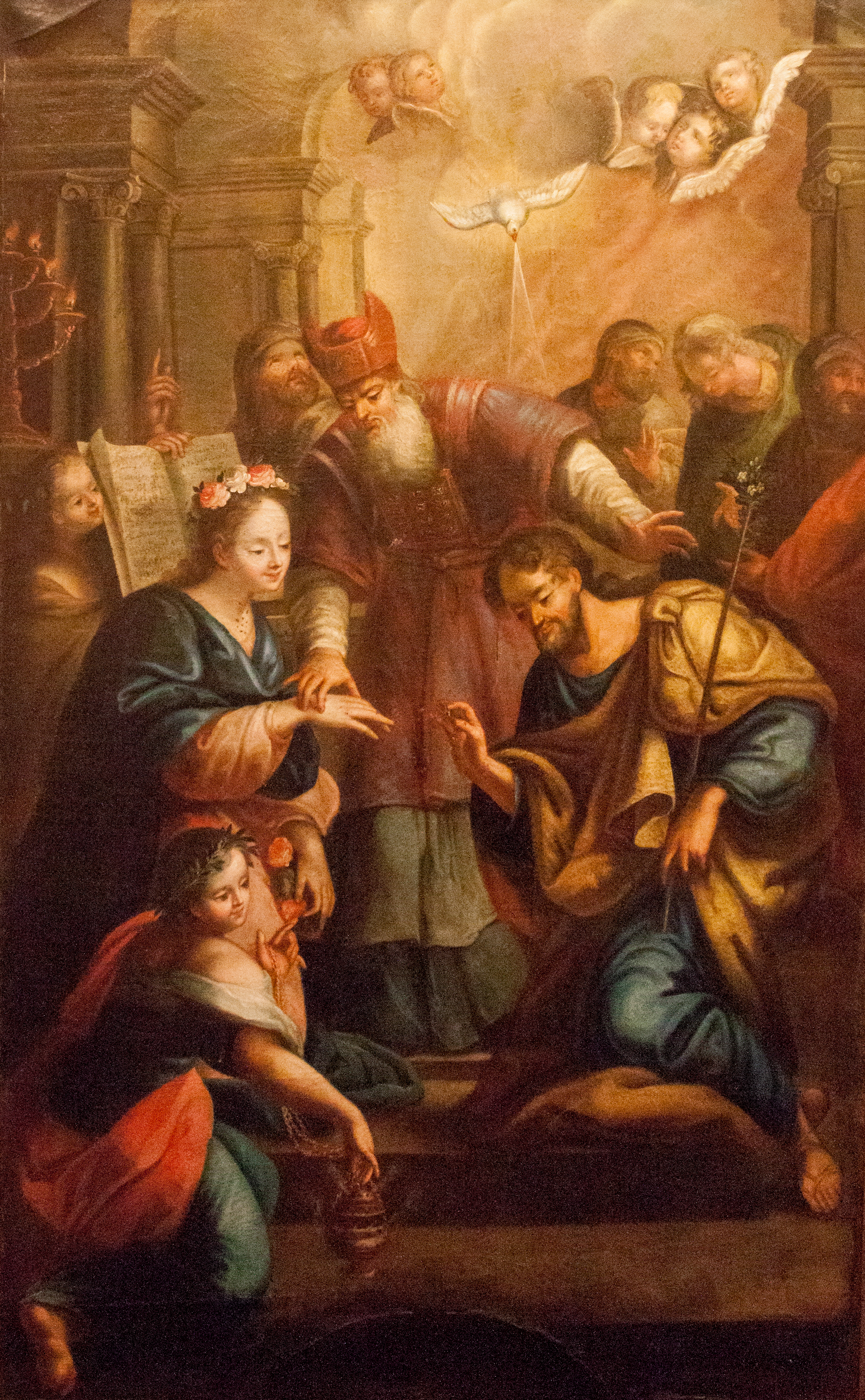 FileBetrothal of Virgin Mary and St Joseph 1743jpg  Wikimedia
