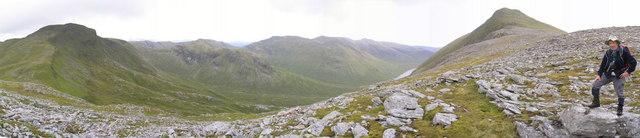 Bidean a'Choire Sheasgaich and Lurg Mhor - geograph.org.uk - 758249.jpg