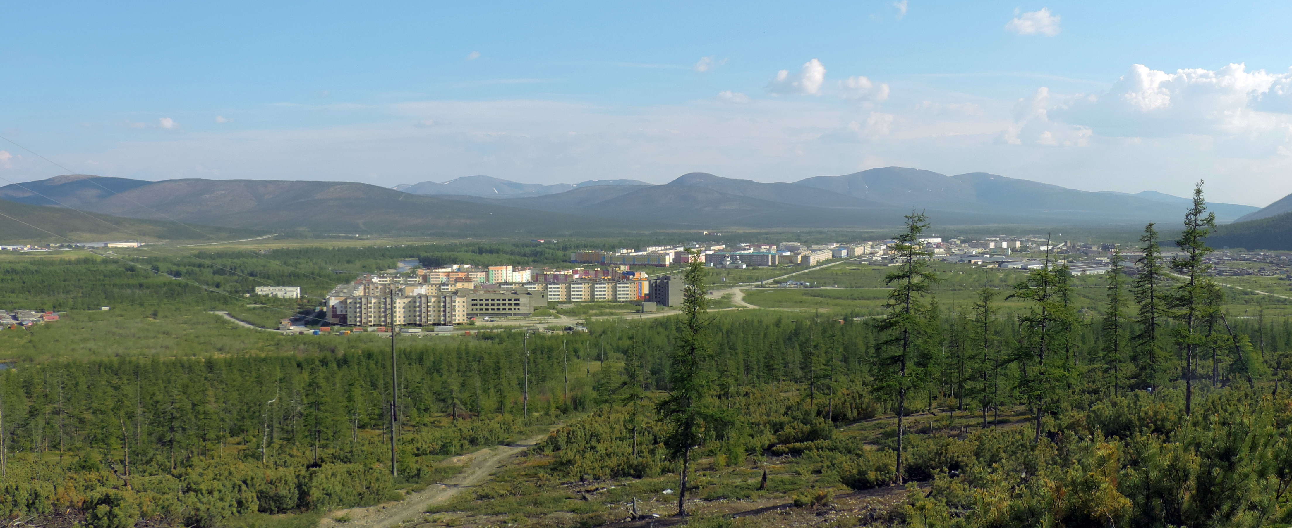 In the village, in the wilderness, but at least in Saratov