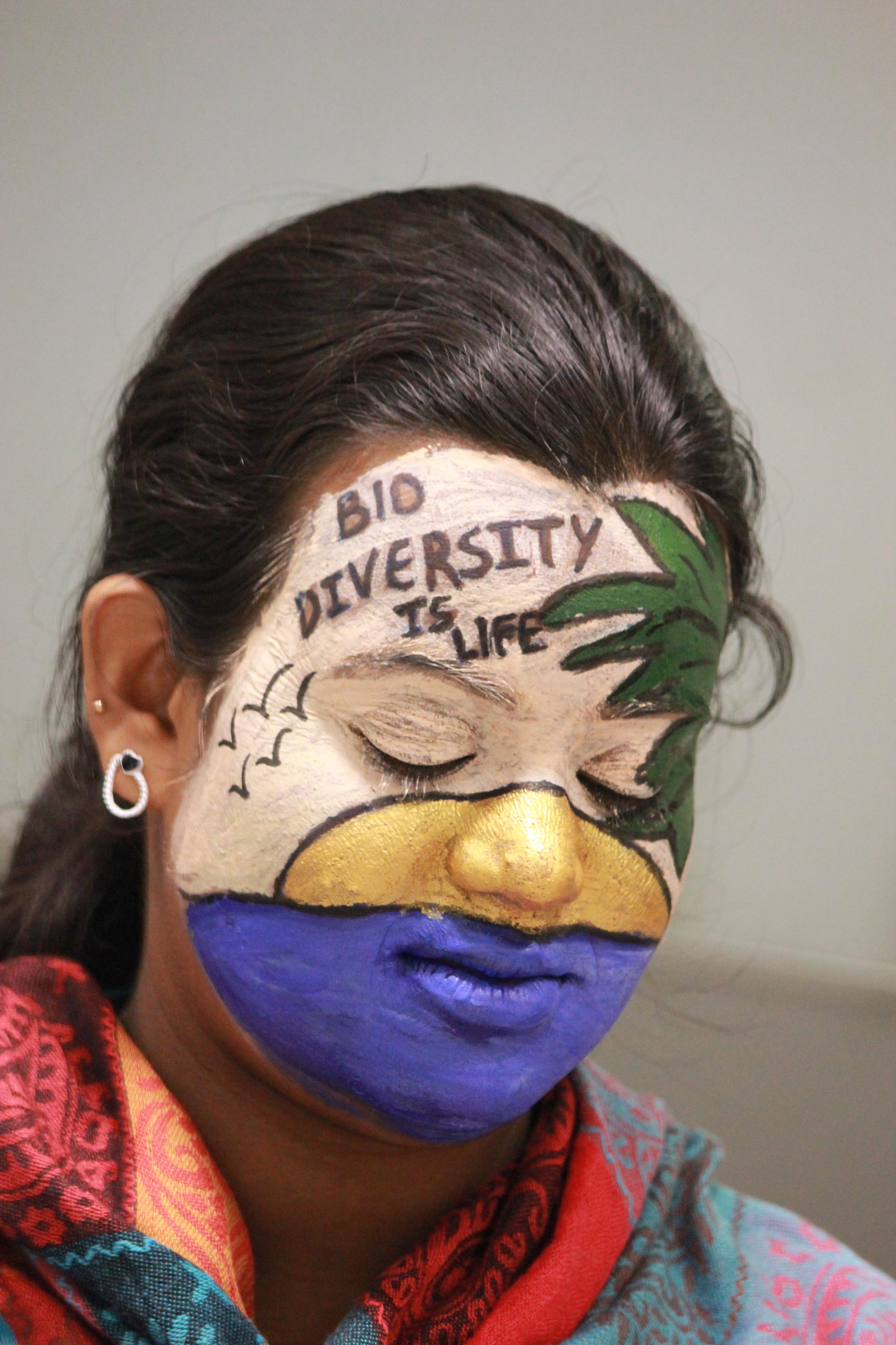 Diversity Face Painting