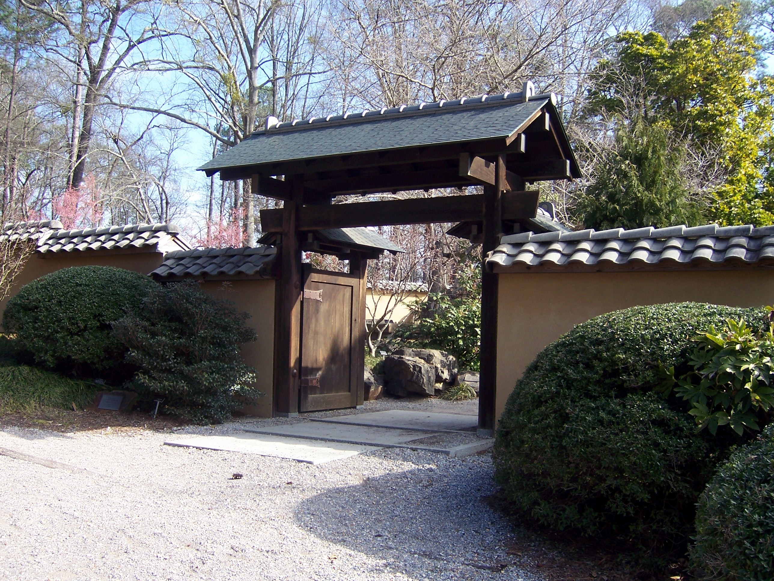 Description birmingham botanical gardens japanese garden taylor gate