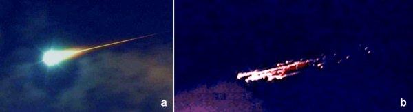 Boliden Phasen テキサス州で火の玉が目撃される!