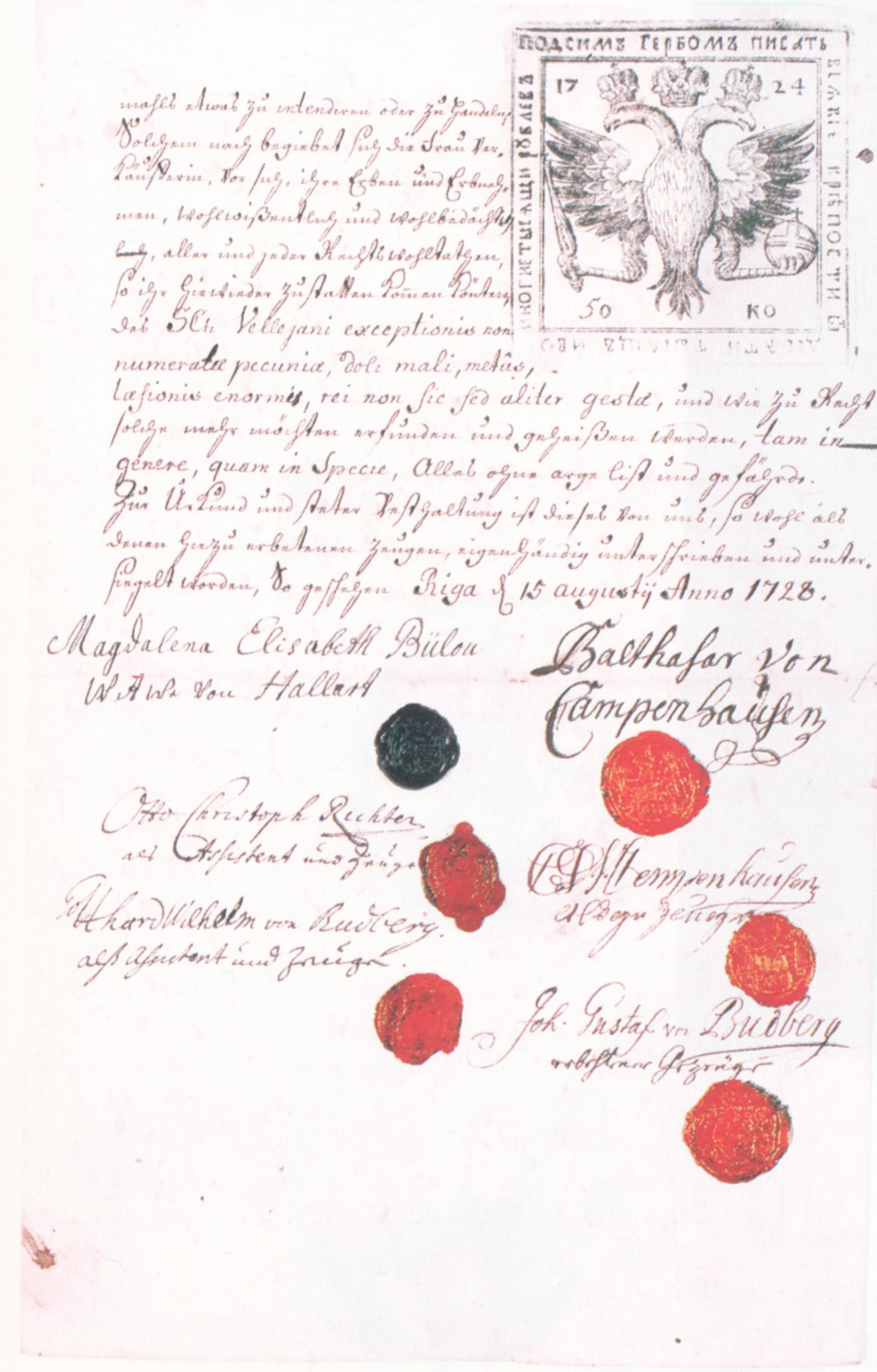 Datei:Campenhausen Kaufbrief 1728.jpg – Wikipedia