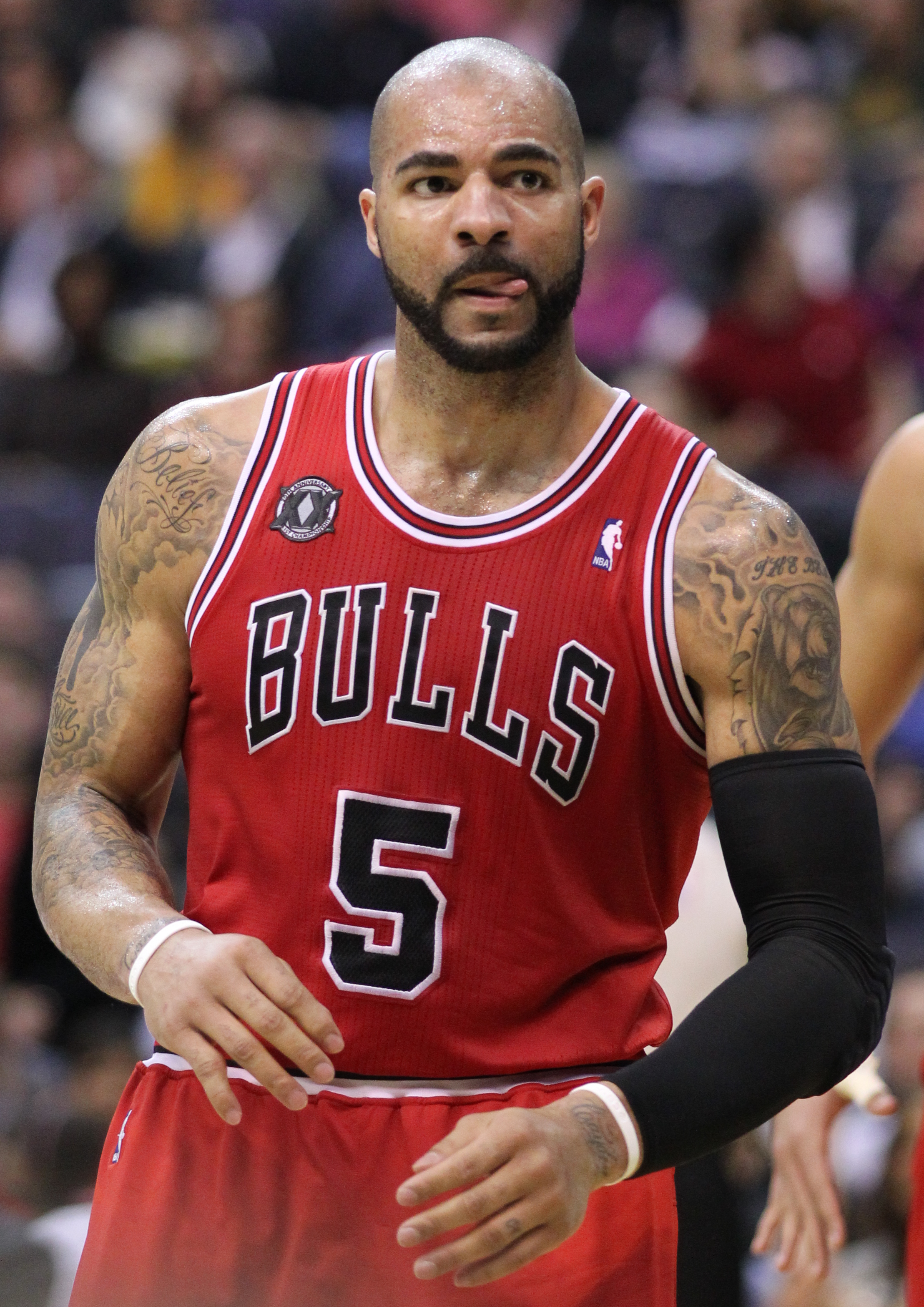 Carlos Boozer earned a 3 million dollar salary, leaving the net worth at 24 million in 2017